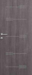 Portone blindato Ferwall con pannello di rivestimento Matrix Crystal