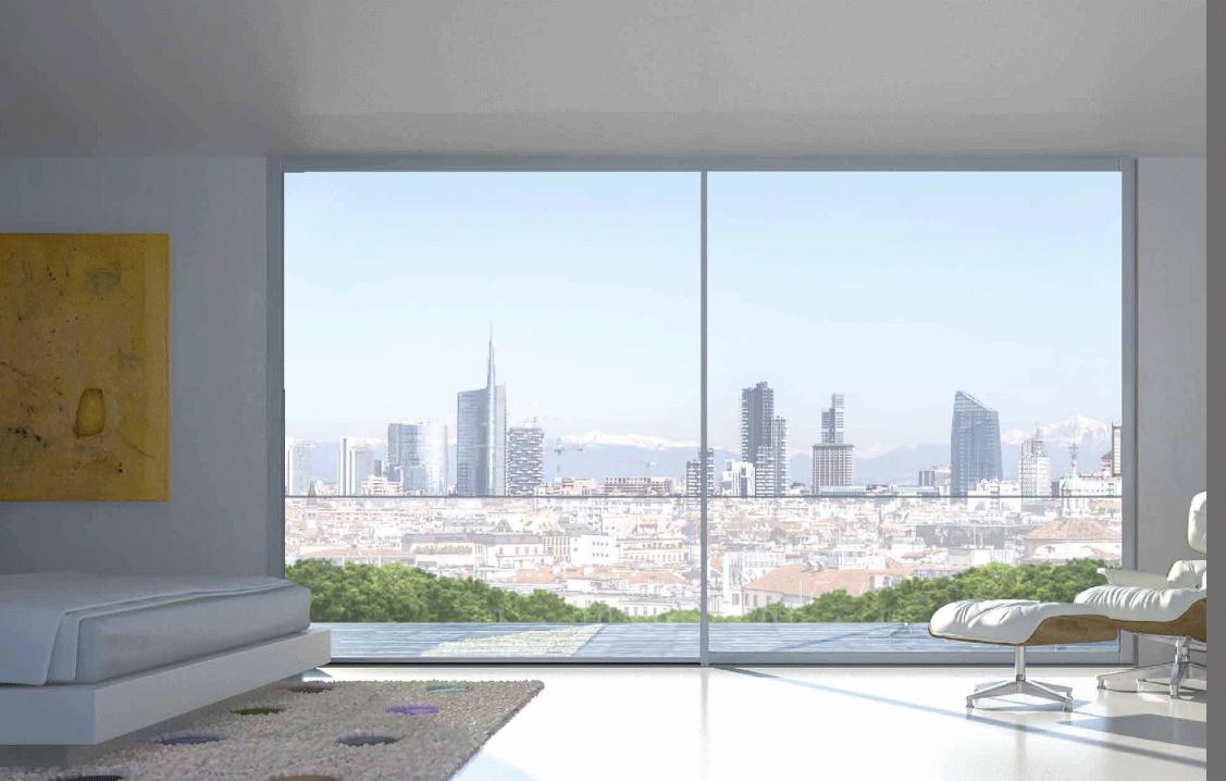 New system di giancarlo chiappettadomal aliante scorrevole for Architecture minimale