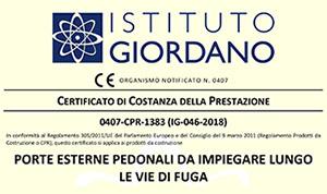 Istituto Giordano - Porte Pedonali