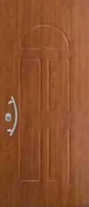 Portone blindato Ferwall con pannello di rivestimentoTekno