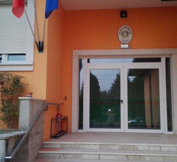Realizzazione infissi PVC scuola elementare del Comune di Poncarale